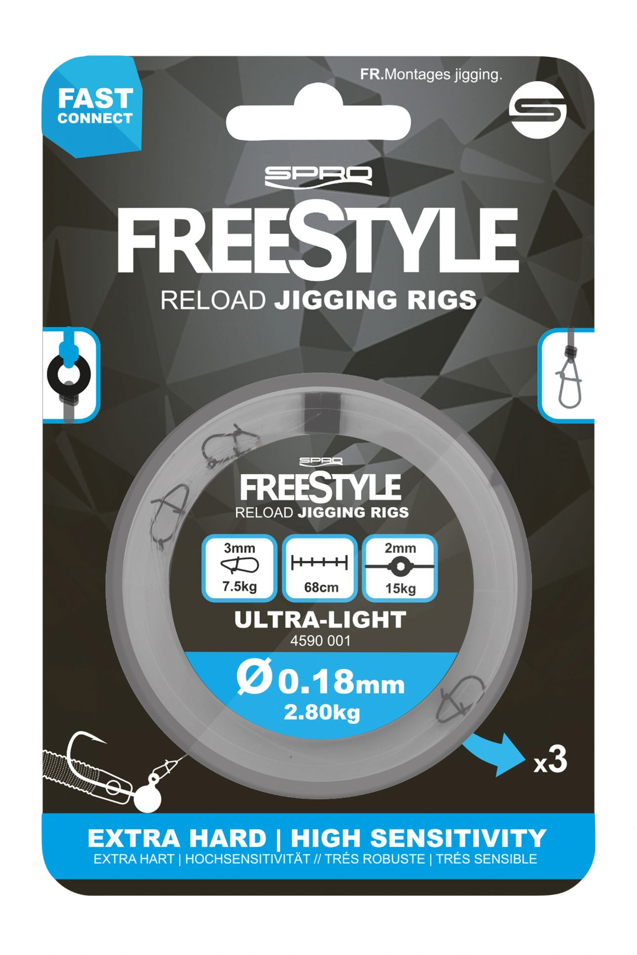Spro Freestyle Reload Jig Rig -